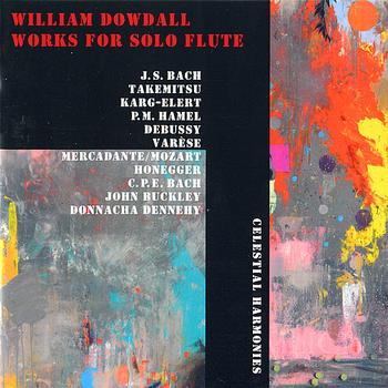 William Dowdall - Works for Solo Flute
