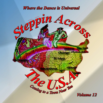 Various Artists - Steppin Across The USA - Volume 12