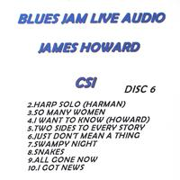 James Howard - Blues Jam Live Audio: James Howard