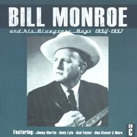 Bill Monroe & His Bluegrass Boys - Bill Monroe CD C: 1954-1957