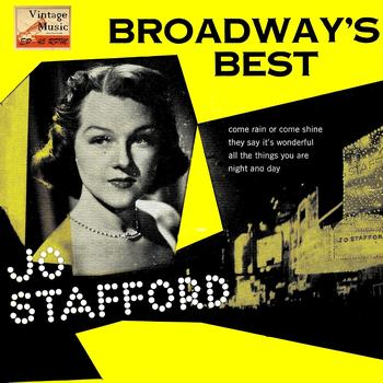Jo Stafford - Vintage Vocal Jazz / Swing No. 90 - EP: Broadway's Best