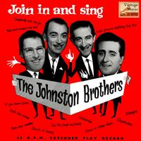 The Johnston Brothers - Vintage Vocal Jazz / Swing No. 92 - EP: Join In And Sing