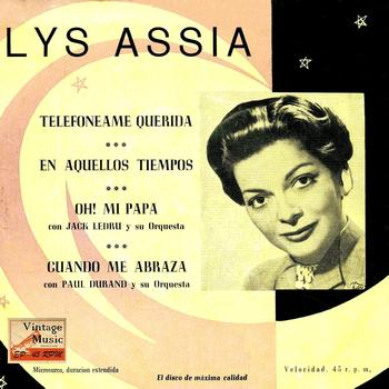 Lys Assia - Vintage French Song No. 138 - EP: Oh! Mon Papa