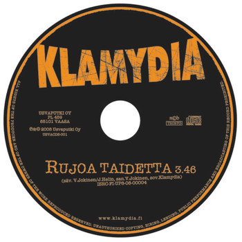 Klamydia - Rujoa taidetta -single (Explicit)