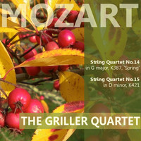 "The Griller Quartet - Mozart: String Quartet No. 14 in G Major ""Spring"", String Quartet No. 15 in D Minor"