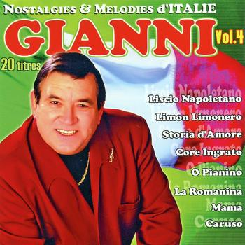 Gianni - Nostalgies Et Mélodies d'Italie Vol. 4