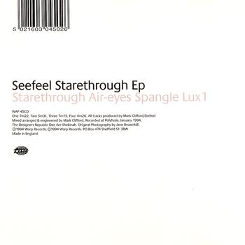 Seefeel - Starethrough EP