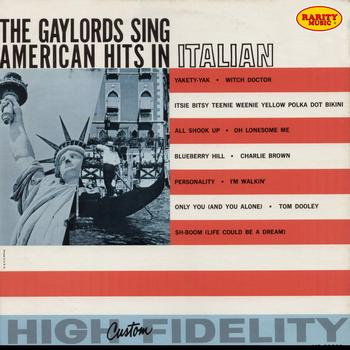 The Gaylords - The Gaylords Sing American Hits In Italian: Rarity Music Pop, Vol. 108