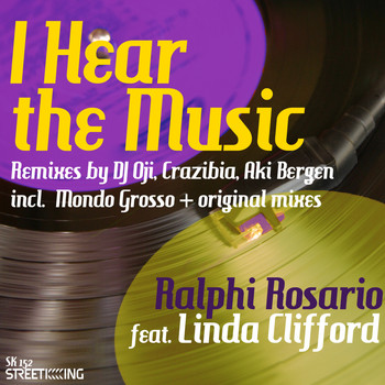 Ralphi Rosario - I Hear The Music (DJ Oji, Aki Bergen, Crazibiza Remixes Deluxe)