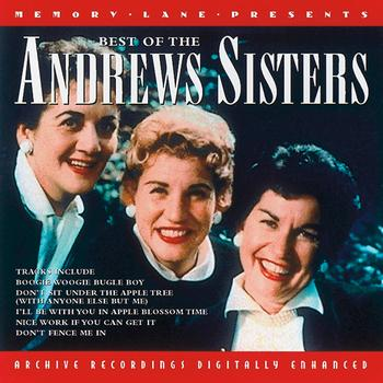 The Andrew Sisters - The Best Of The Andrew Sister
