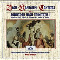 Münchener Bach-Orchester - Bach, J.S.: Sundays after Trinity I (Vol. 4)