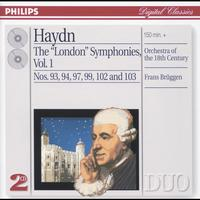 "Orchestra Of The 18th Century - Haydn: The ""London"" Symphonies Vol.1"