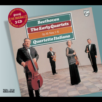 Quartetto Italiano - Beethoven: The Early String Quartets (3 CDs)