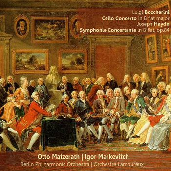 Berlin Philharmonic Orchestra - Boccherini: Cello Concerto in B-Flat Major - Haydn: Symphonie Concertante in B-Flat, Op. 84