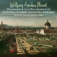 Scottish Chamber Orchestra - W.A. Mozart Divertimento K.334 and Oboe Quartet K.370