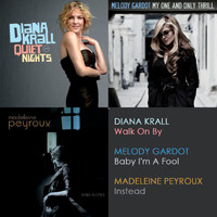 Diana Krall - Amazon - Jazz Ladies Promotion