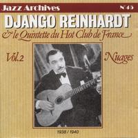Django Reinhardt, Le Quintette du Hot Club de France - Nuages, Vol. 2 : 1938-1940