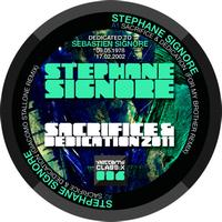 Stephane Signore - Sacrifice & Dedication 2011