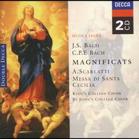 Choir Of St. John's College, Cambridge - Bach, JS/Bach, CPE: Magnificats/Scarlatti: Messa di Santa Cecilia