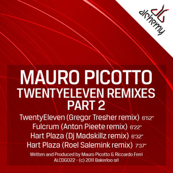 Mauro Picotto - TwentyEleven Remixes Part 2