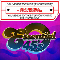 Cuba Gooding - You've Got To Take It (If You Want It) / You've Got To Take It (If You Want It) (Instrumental) [Digital 45]