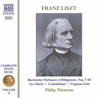 Philip Thomson - Liszt: 6 Consolations / Ave Maria