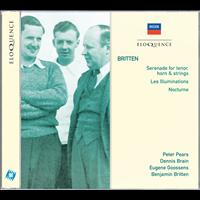 Sir Peter Pears - Britten: Serenade for tenor, horn & strings; Les Illuminations; Nocturne