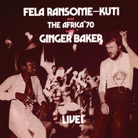 Fela Kuti - Live with Ginger Baker