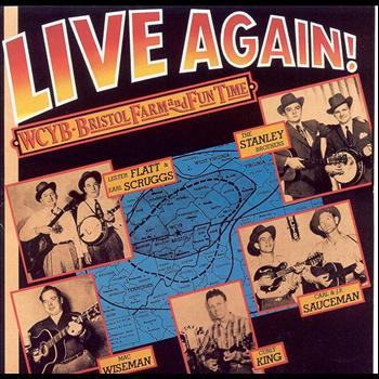Various Artists - Live Again! WCYB Bristol Farm & Fun Time
