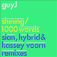 Guy J - Shining / 1000 Words Remixes