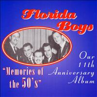"The Florida Boys - Bibletone: The Florida Boys 11th Anniversary ""Memories of the  50's"""