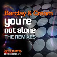 Barclay & Cream - You're Not Alone (The Dubstep and Acapella Mixes)