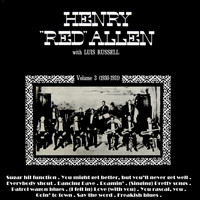 Henry 'Red' Allen - With Luis Russell Volume 3
