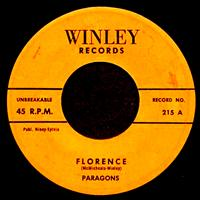 The Paragons - Florence - Single