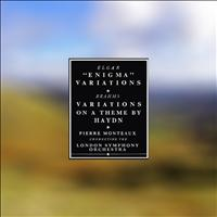 "The London Symphony Orchestra|Pierre Monteux - Elgar: Variations On an Original Theme, Op. 36 ""Enigma Variations""  - Brahms: Variations On a Theme by Haydn, Op. 56a"