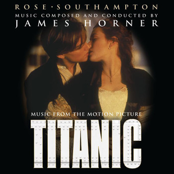 James Horner - Titanic: Music from the Motion Picture Soundtrack - European Commercial Single