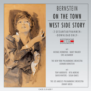 New York Philharmonic Orchestra, Los Angeles Philharmonic Orchestra - Leonard Bernsein: On The Town - West Side Story