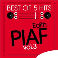 Edith Piaf - Best of 5 Hits, Vol.3 - EP