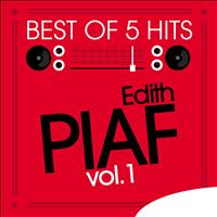 Edith Piaf - Best of 5 Hits, Vol.1 - EP