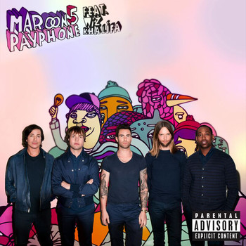 Maroon 5 - Payphone (Explicit)