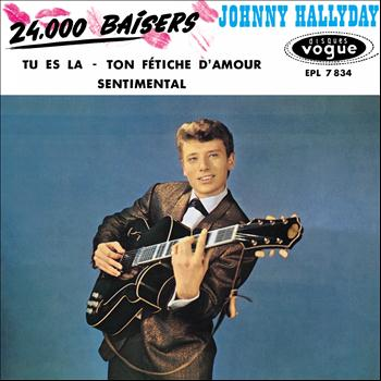 Johnny Hallyday - 24000 baisers, vol. 7 (Version coffret Les Années Vogue, vol. 2)