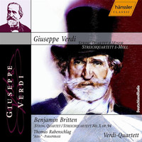 Verdi Quartet - Verdi: String Quartet in E Minor / Britten: String Quartet No. 3, Op. 94