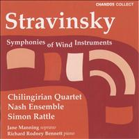 Simon Rattle - Stravinsky: Symphonies of Wind Instruments / 3 Pieces / 3 Japanese Lyrics / Ragtime