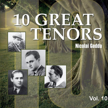 Nicolai Gedda - 10 Great Tenors, Vol. 10 (1953-1955)
