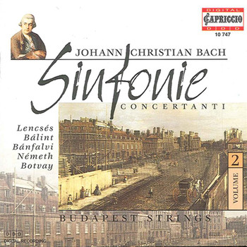 Budapest Strings - Bach, J.C.: Sinfonie Concertanti, Vol. 2