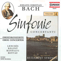 Budapest Strings - Bach, J.C.: Sinfonie Concertanti, Vol. 4