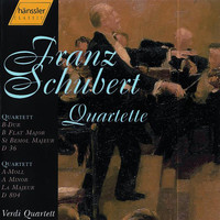 Verdi Quartet - Schubert: String Quartet No. 13 in A Minor, D. 804 / String Quartet No. 3 in B-Flat Major, D. 36