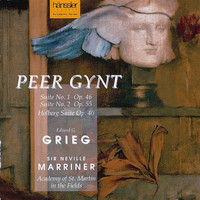 Neville Marriner - Grieg: Holberg Suite, 2 Elegiac Melodies, Peer Gynt Suites & 2 Lyric Pieces