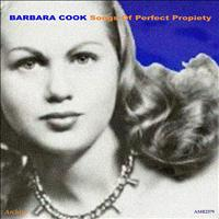 Barbara Cook - Songs of Perfect Propiety