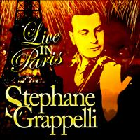 Stéphane Grappelli - Live in Paris